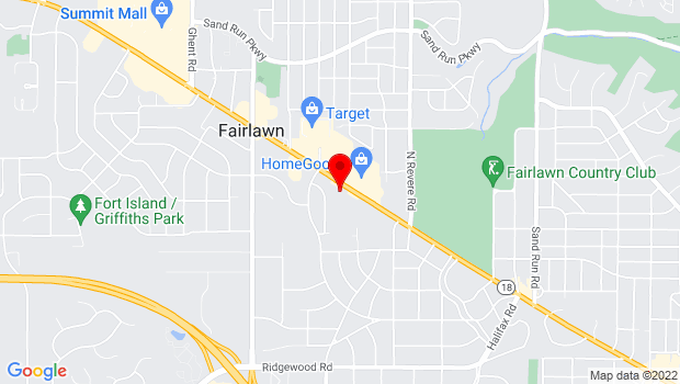 Google Map of 2750 W Market St, Fairlawn, OH 44333