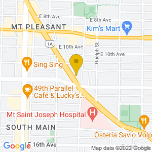 Map to Biltmore Cabaret provided by Google