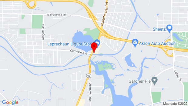 Google Map of 2759 Manchester Rd., Akron, OH 44319