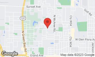 Map of 2772 West Atlantic Avenue WAUKEGAN, IL 60085