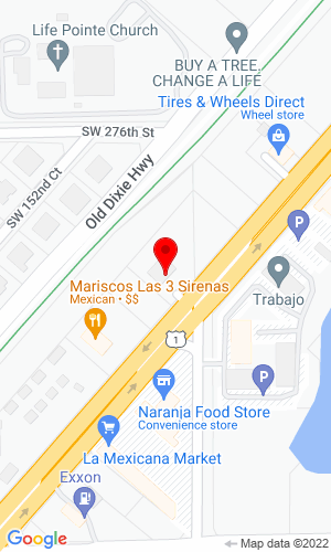 Google Map of Action Equipment LLC 27742 South Dixie Hwy, Miami, FL, 33032