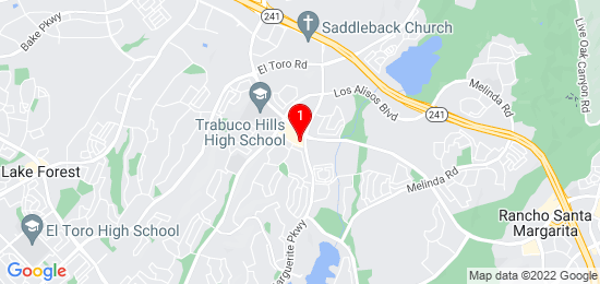 Google Map of 27758 Santa Margarita, Mission Viejo, CA 92691, USA