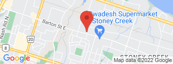 Google Map of 2795+Barton+Street+East%2CHamilton%2COntario+L8E+2J8