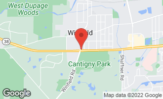 Map of 27W0S Roosevelt Road WINFIELD, IL 60190