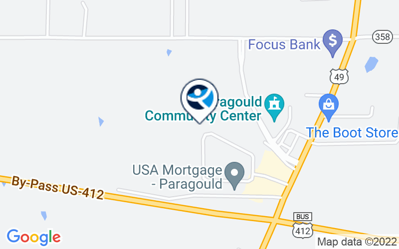 Mid-South Health Systems - Paragould Location and Directions