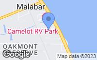 Map of Malabar, FL