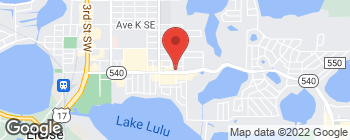 Map of 767 Cypress Gardens Blvd in Winter Haven