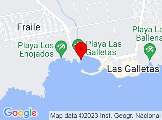 Google Map of Las Galetas-Tenerife