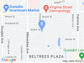 Map of Dependable Pet Sitters Dog Boarding options in Dunedin | Boarding