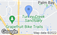 Map of Palm Bay, FL