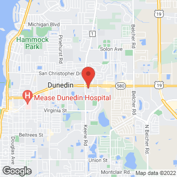 Map of Hair Cuttery-Closed at 1495 Main Street, Dunedin, FL 34698