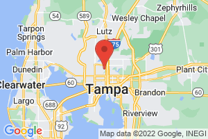 Map of Tampa Bay Area
