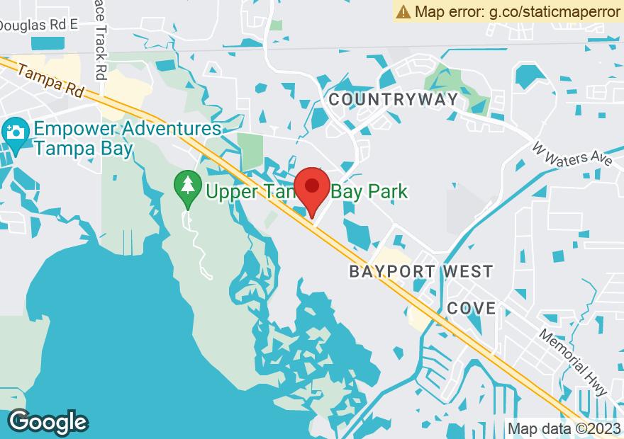 Google Map of 12211 W HILLSBOROUGH AVE