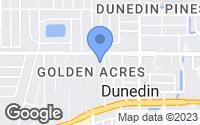 Map of Dunedin, FL