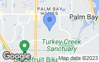 Map of Palm Bay, FL
