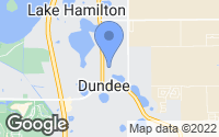 Map of Dundee, FL
