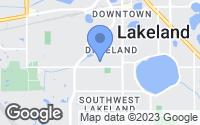 Map of Lakeland, FL