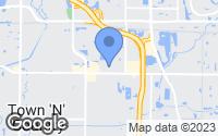 Map of Tampa, FL