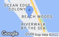 Map of Melbourne Beach, FL