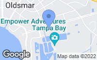 Map of Oldsmar, FL