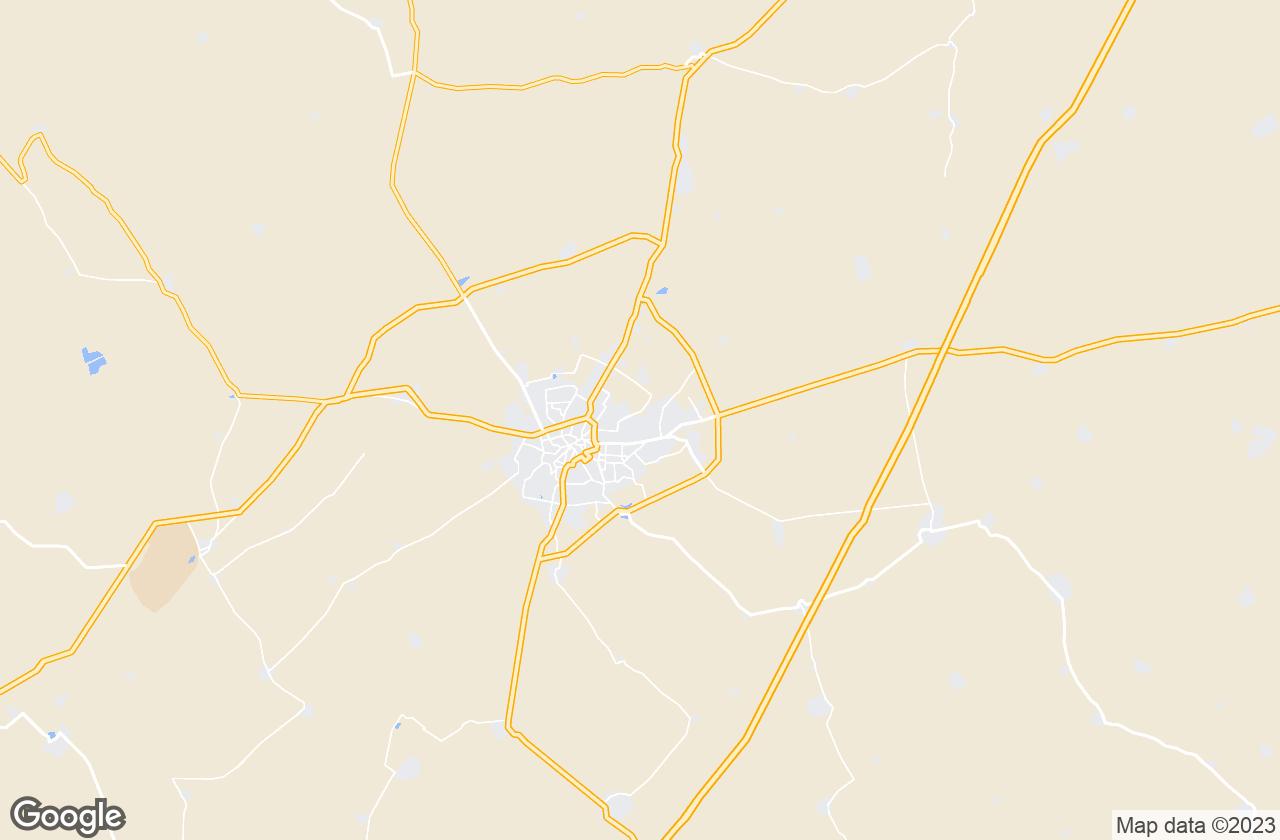 Google Map of Bikaner