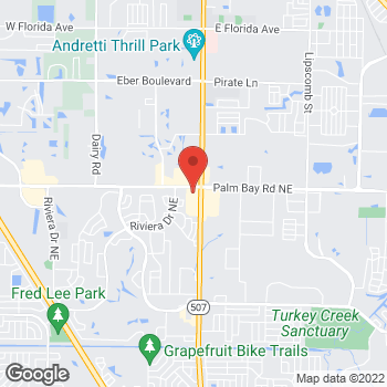 Map of Citi Trends at 4700 Babcock St Ne, Palm Bay, FL 32905