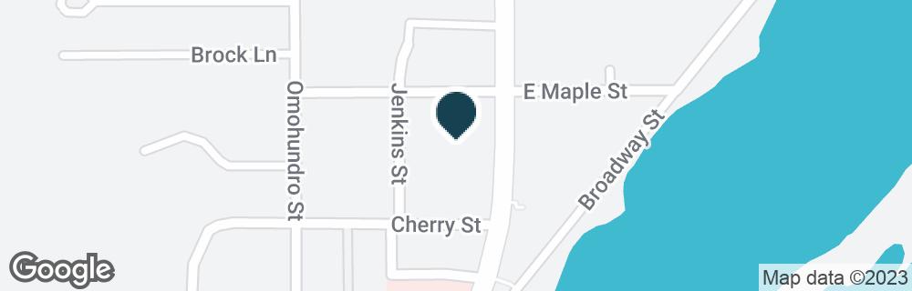 Google Map of1309 HIGHWAY 35 N