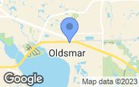 Map of Oldsmar, FL