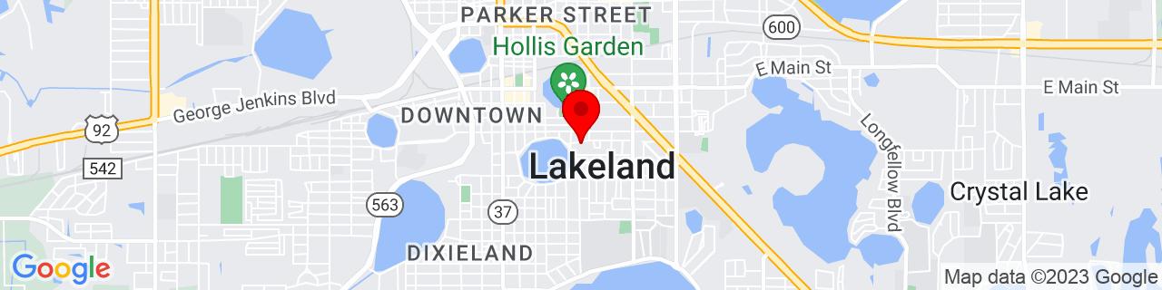 Google Map of 28.03947, -81.9498