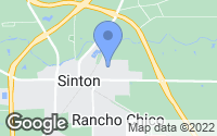 Map of Sinton, TX