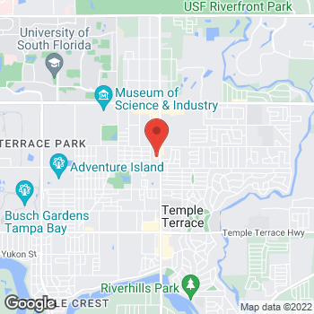 Map of Check `n Go 56th St. at 10600 N 56th St., Tampa, FL 33617