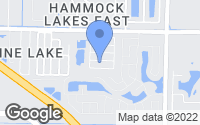 Map of Melbourne, FL