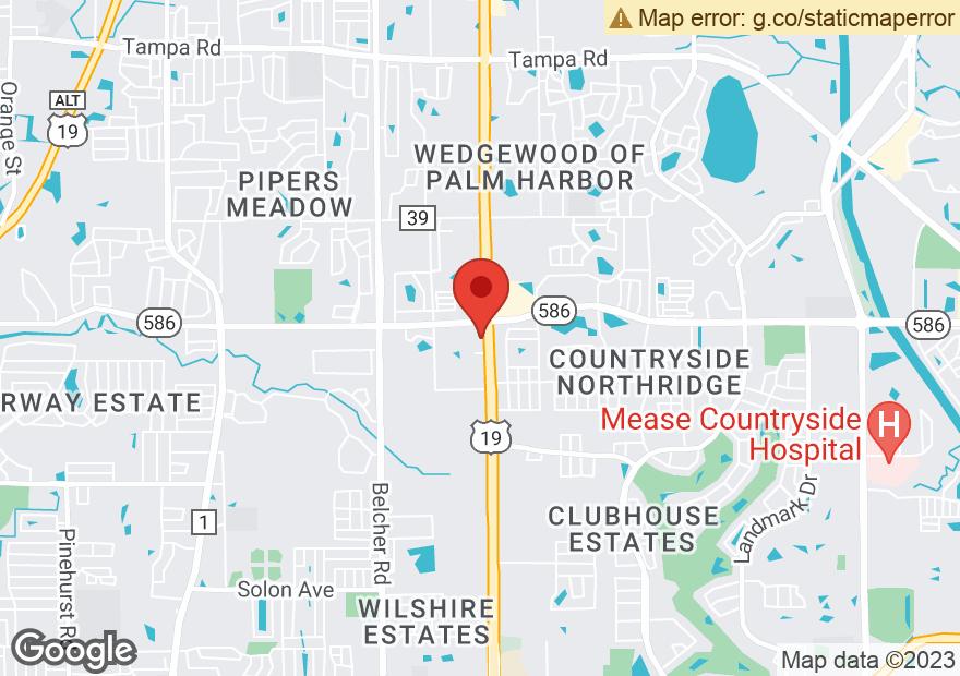Google Map of 30280 US HIGHWAY 19 N