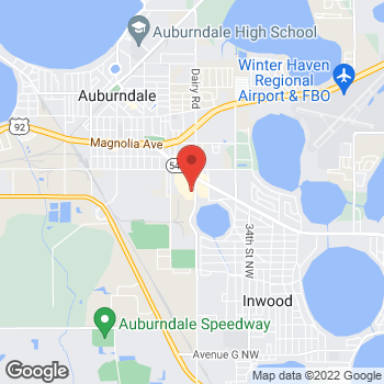 Map of Citi Trends at 472 Havendale Road, Auburndale, FL 33823