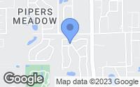 Map of Palm Harbor, FL