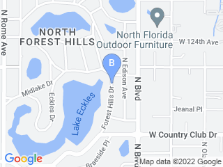 Map of Home Of Bed And Biscuit Dog Boarding options in Tampa | Boarding