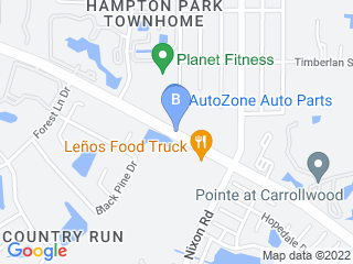 Map of Kitty City Dog Boarding options in Tampa | Boarding