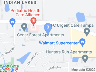 Map of Groomingdales Bed Biscuit Dog Boarding options in Tampa | Boarding