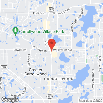 Map of Fifth Third Mortgage - Mark Fitzpatrick at 13001 North Dale Mabry Highway, Tampa, FL 33618