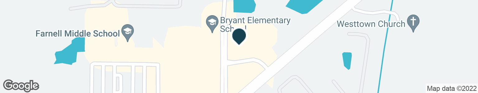 Google Map of13911 NINE EAGLES DR