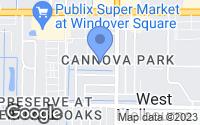 Map of Melbourne, FL