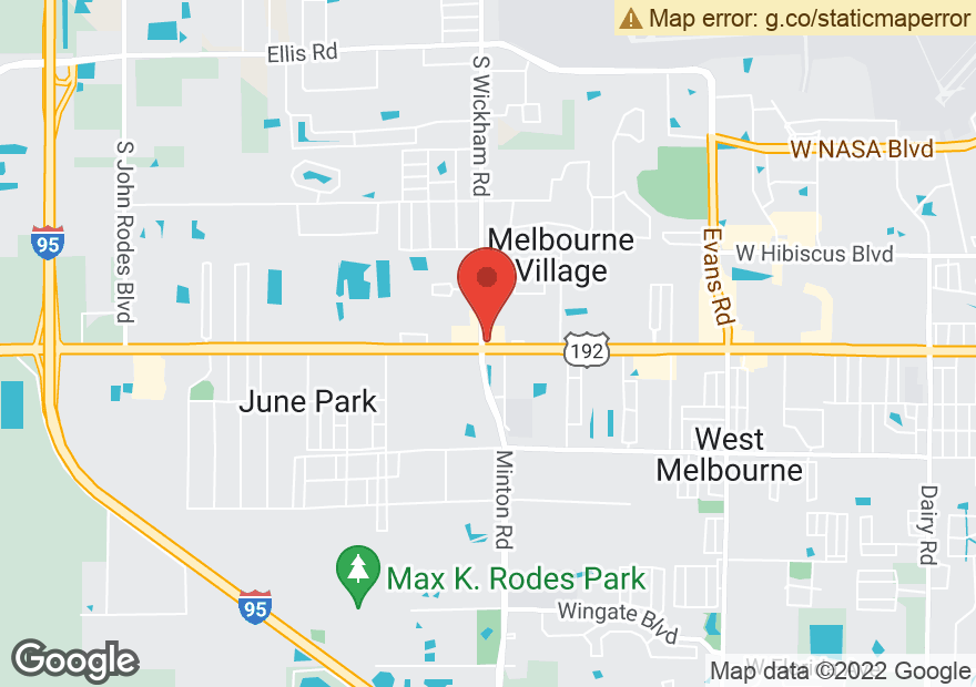 Google Map of 3090 W NEW HAVEN AVE