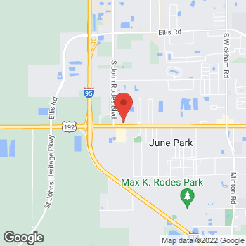 Map of Volvo Cars Melbourne at 4340 W. New Haven Blvd, Melbourne, FL 32904