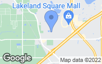 Map of Lakeland, FL