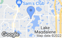 Map of Tampa, FL
