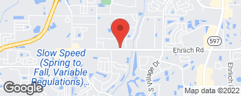 Map of 4809 Ehrlich Rd in Tampa
