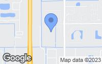 Map of West Melbourne, FL