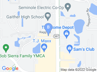 Map of Royal Pets Market Resort Dog Boarding options in Carrollwood | Boarding