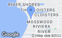 Map of Indialantic, FL