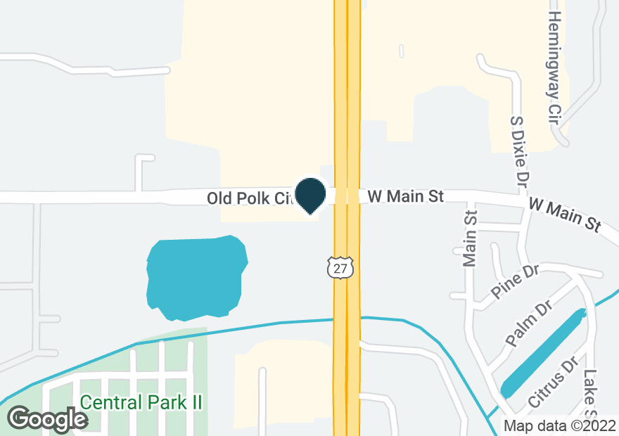 Google Map of35800 HWY 27